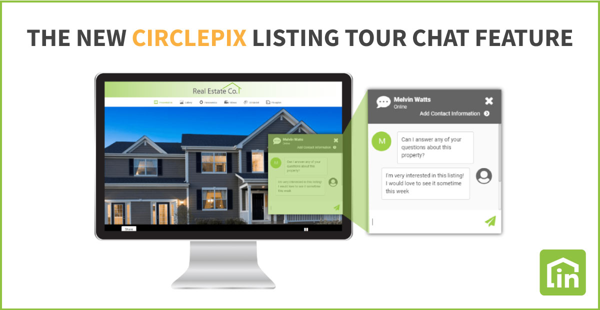 ire chat feature circlepix property websites