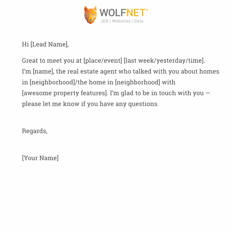 wolfnet creating branded email template 2