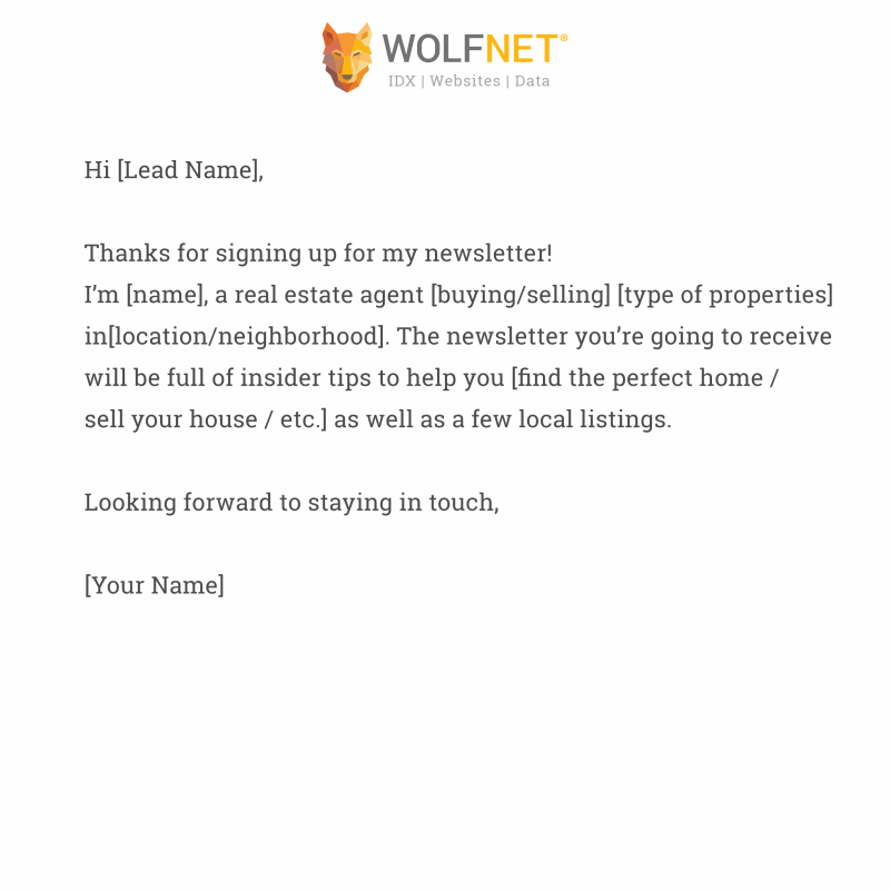 wolfnet creating branded email template 3