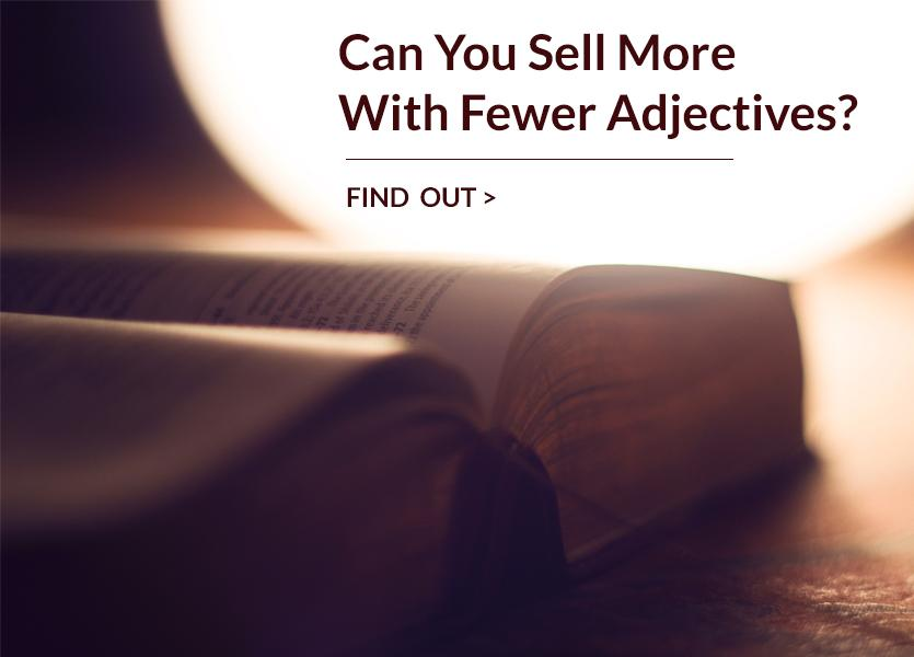 lwolf sell more fewer adjectives