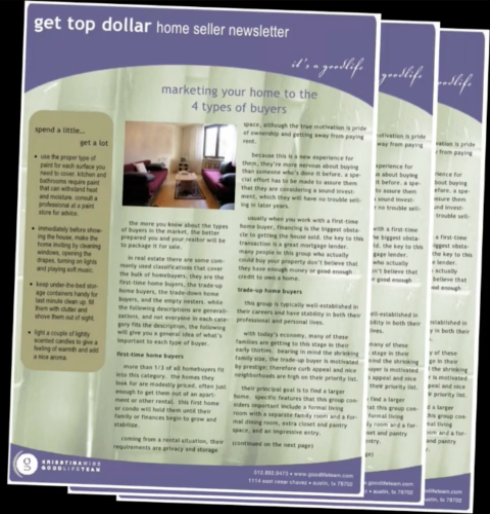 pa 3 steps to increase impact from your real estate newsletters 1