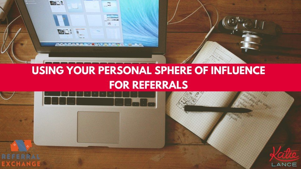 refex using personal sphere influence referrals