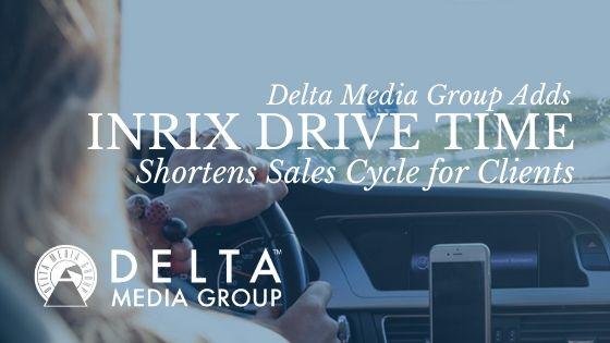 delta media group adds inrix drive time 1