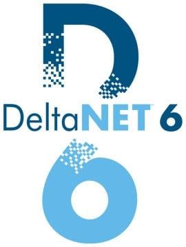 deltanet6 logo tall