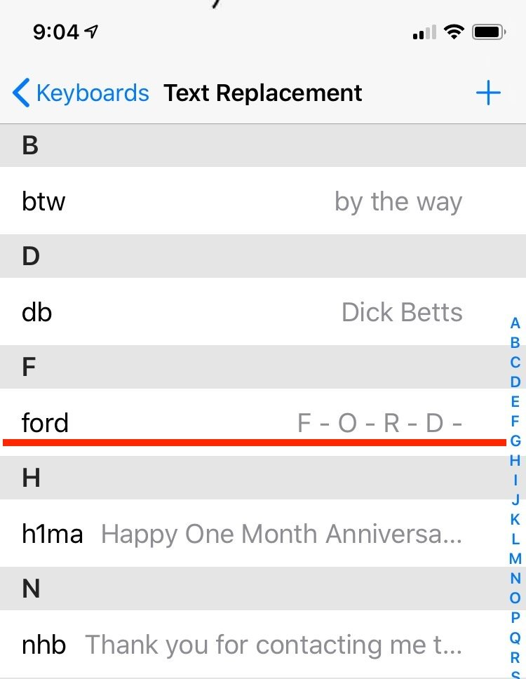 dick betts run smartphone contacts ford2