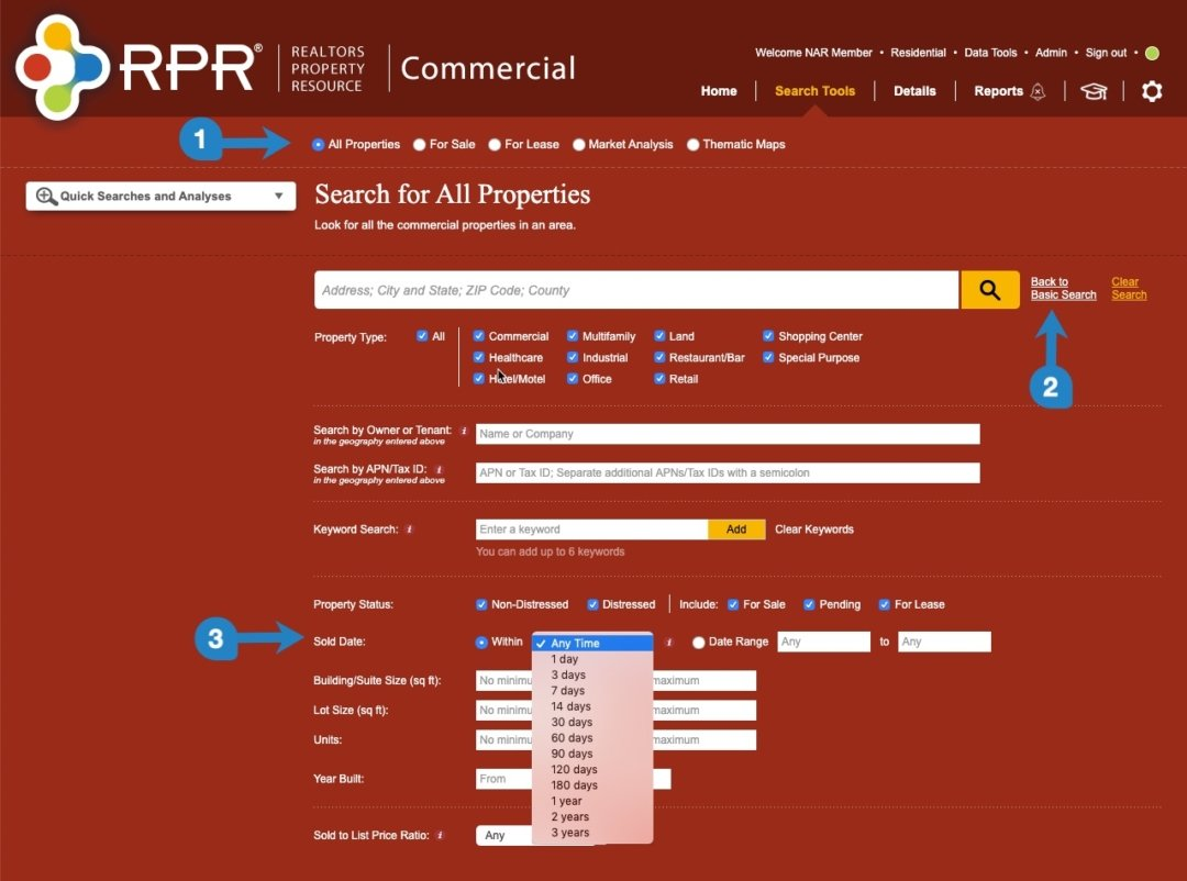 rpr underused commercial search functions 2