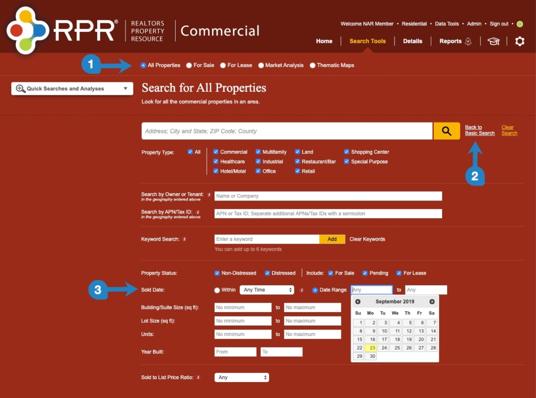 rpr underused commercial search functions 3