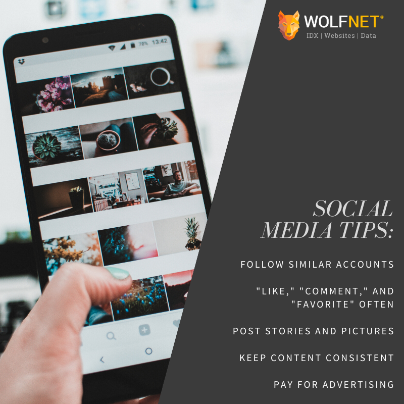 wolfnet promote yourself stay connected 2