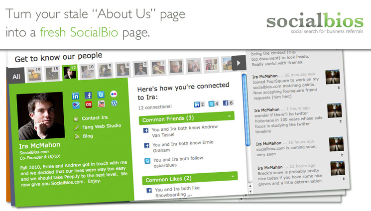 SocialbiosAboutUs Page