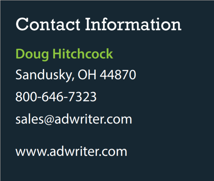 contact adrwriter