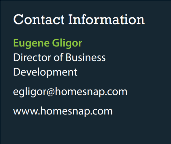 contact homesnap1
