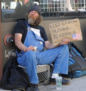 Honest Homeless in SF