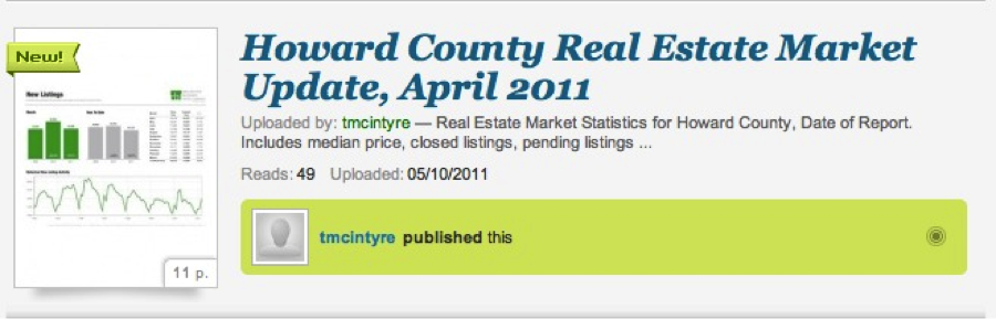 Howard County Real Estate Market