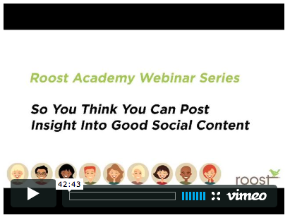 roost video