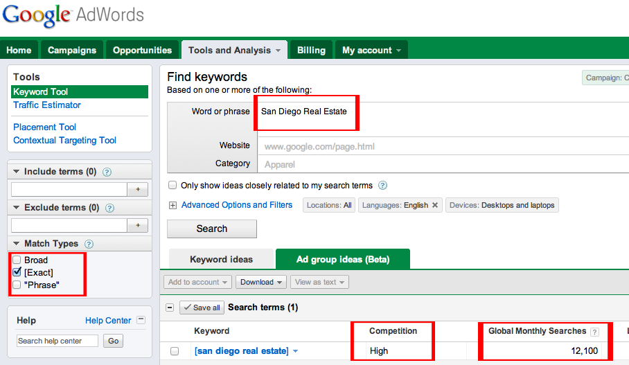 3596 the right way to keyword search