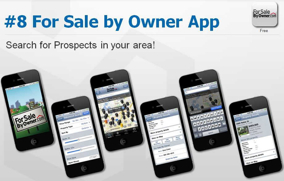 For Sale By Owner smartphone app