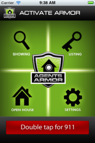 ss agent armor screen